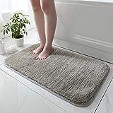 N / A Hong Lei flauschige Bodenmatte für Badezimmer, Badezimmer, Anti-Rutsch-Matte, saugfähig, Schlafzimmer-Teppich, Türmatte, WC-Bodenmatte