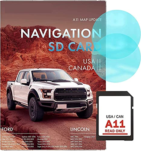 Navigation SD Card Compatible w Ford A11   Latest Update 2020   Compatible w...