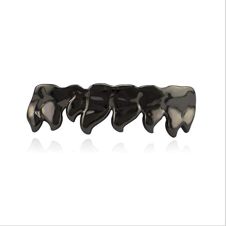 急行する舌なルアーヒップホップGrillz歯めっきゴールド輝く帽子ハロウィーンピエロコスプレ衣装diyの小道具歯パーフェクトアクセサリーユニセックス,C