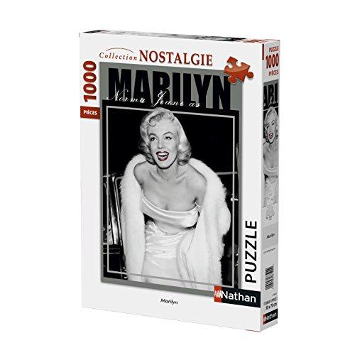 Nathan–Puzzle Marilyn Monroe 1000piezas, 87608 , color/modelo surtido