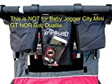 Double Stroller Organizer by Booyah Child and Large Pet Stroller. (NOT for Bob Duallie nor City Select GT)