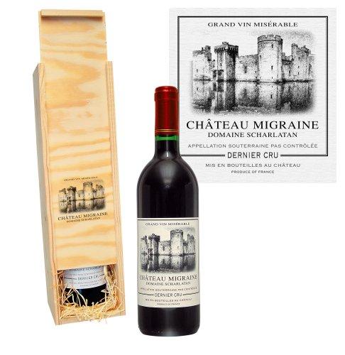 Château Migraine in der Holzkiste (1 x 0.75 l)