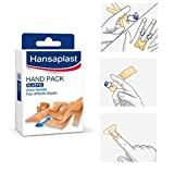 Hansaplast Hand Pack Elastic fabric Plasters 4 Formats 20 Strips