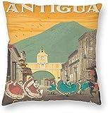 BONRI World Vintagetravel Art Poster Guatemala Antigua
