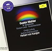 Mahler: Symphony No. 6 / R?ckert Lieder / Kindertotenlieder ~ Karajan / Ludwig by Christa Ludwig (1998-05-03)