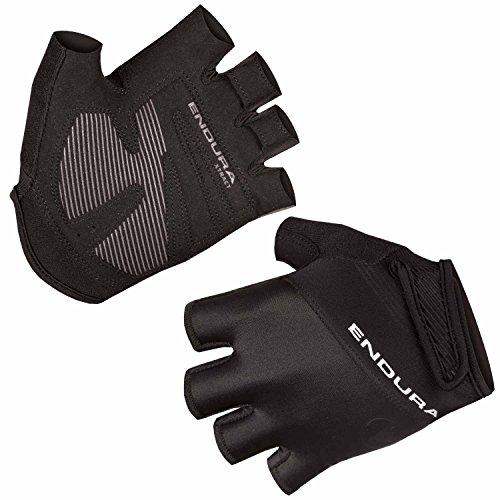 ENDURA Xtract Guantes de Ciclismo II – Transpirables, sin Dedos Guantes de Bicicleta, Medium, Negro