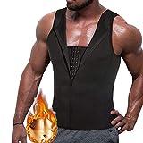 Camisa de compresión de Hombre para Ocultar ginecomastia Moobs Shapewear Vest