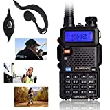 UV-5R Two-Way Radio, Dual Band UHF/VHF Ham...