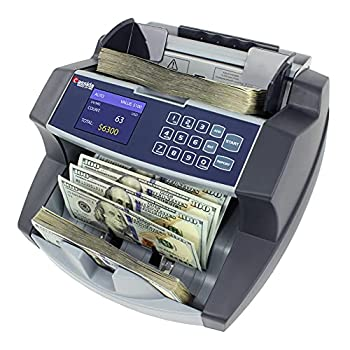 Cassida 6600 UV/MG – USA Business Grade Money Counter with UV/MG/IR Counterfeit Detection – Top Loading Bill Counting Machine w/ ValuCount Add and Batch Modes – Fast Counting Speed 1,400 Notes/Min