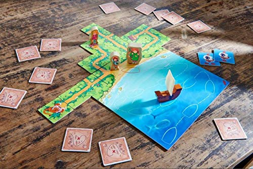Image of HABA Karuba Junior - A Cooperative Arranging Game for Ages 4-8 (Made in Germany)