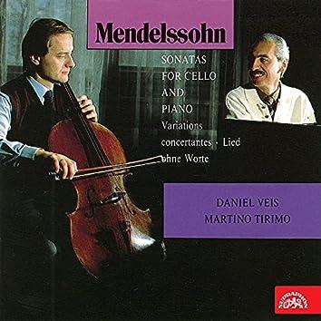 Mendelssohn-Bartholdy: Works for Cello and Piano