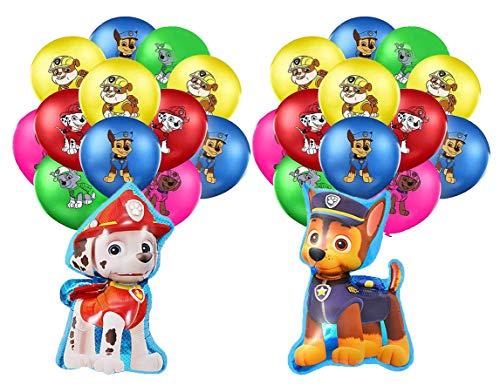 smileh Decorazioni di Compleanno Dog Palloncini Dog Palloncino Compleanno Palloncini Dog