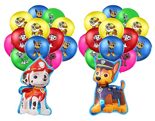 Decoración Cumpleaños Patrulla Canina Globos Cumpleaños Patrulla Canina Balloons Paw Dog Patrol Balloons