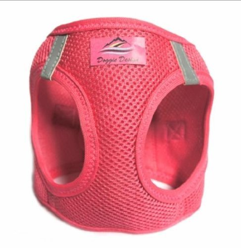 CHOKE FREE REFLECTIVE STEP IN ULTRA HARNESS PINK ALL SIZES AMERICAN RIVER (Medium)