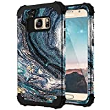 Samsung S7 Case, S7 Case, Casewind 3 in 1 Heavy Duty Case for Samsung Galaxy S7 Hard PC & Soft Silicone Hybrid Shockproof Anti-Scratch Slim TPU Rugged Bumper Protective Galaxy S7 Case 5.1 inch, Blue