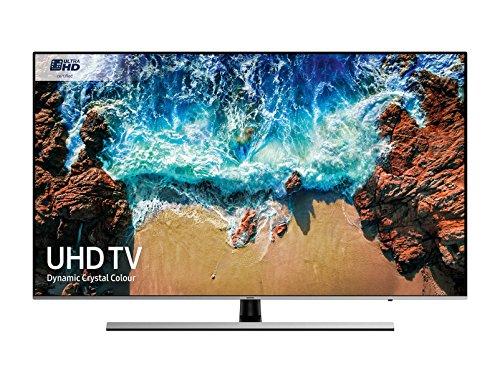 "Samsung UE65NU8000T 65"" 4K Ultra HD Smart TV Wi-Fi Nero, Argento"