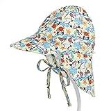Boomly Niños Bebé Sombrero para El Sol UV50 + Proteccion V