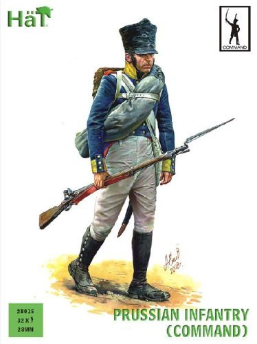 Hat Figures 28mm - Prussian Infantry Command - HAT28015
