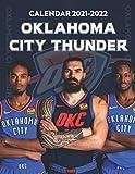 Oklahoma City Thunder Calendar 2021-2022: Special Calendar for Fans - 2 Years Calendar