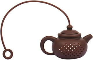 Flask, Maserfaliw Teapot-Shape Tea Maker Infuser Strainer Silicone Bag Leaf Filter Diffuser Tool - Coffee, Practical Holiday Gifts And Essentials For Life.