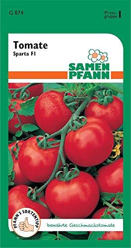 Samen Pfann G874 Tomate Sparta F1 (Tomatensamen) [MHD 01/2020]