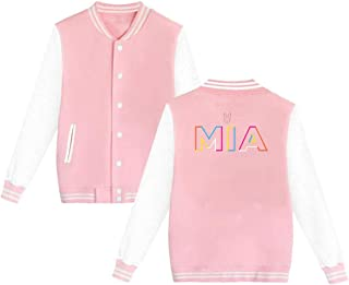 Unisex Bad Bunny Mia Baseball Uniform Jacket Sport Coat