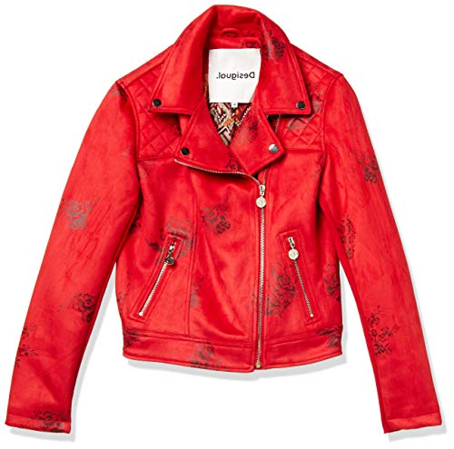 Desigual Delaware Jacken Damen Rot - DE 40 (EU 42) - Lederjacken/Kunstlederjacken Outerwear