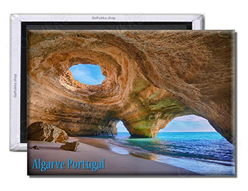 GoPukka - Imán para Nevera con diseño de Algarve Portugal, plástico, Standard: 70x45mm