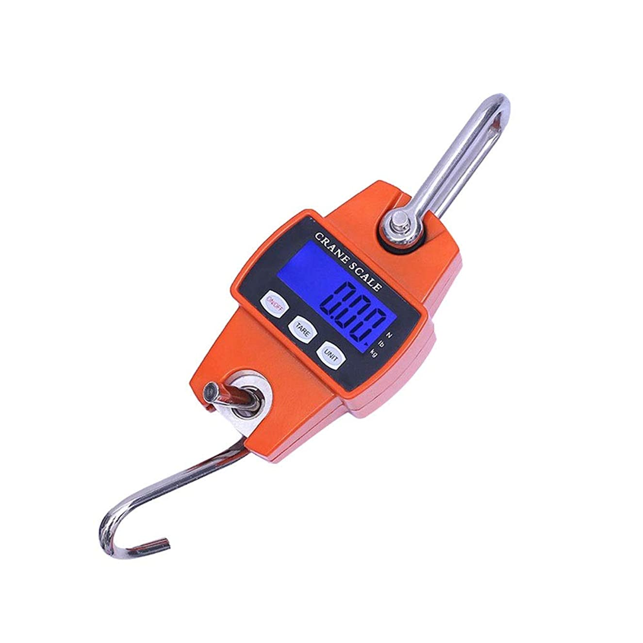 WZ Portable Digital Scale 300kg/50g LCD Night Screen Stainless Aluminium Alloy Case Waterproof Outdoor Family Crane Scales Electronic