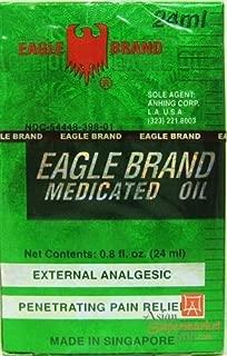 A DOZEN (12) EAGLE BRAND MEDICATED OIL 24ML (O.8 OZ)