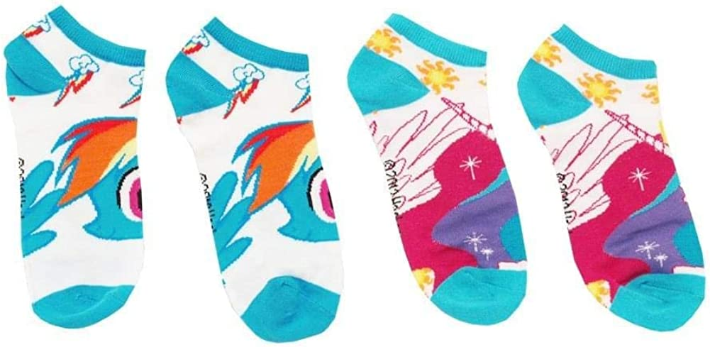 My Little Pony Ankle Sock 2 Pairs