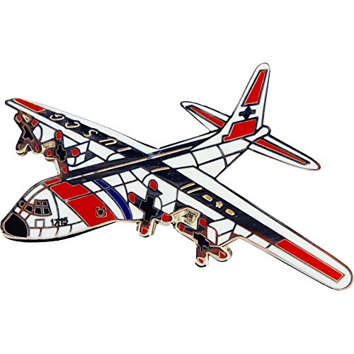 AIRCRAFT & HELICOPTERS, APL C-130 HERCULES CG - Original Artwork, Expertly Designed PIN - 1.50""