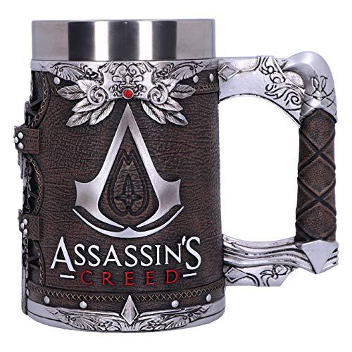 Nemesis Now Jarra de resina con licencia oficial de Assassins Creed Brotherhood, marrón, 15,5 cm (B5347S0)