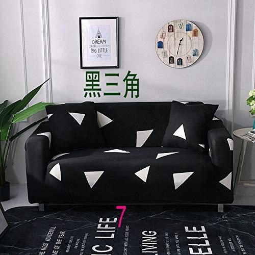 WEDZB Sofa hoes,1/2/3/4 zits kleur elastische bank hoes spandex moderne polyester hoekbank bank hoes stoelbeschermer woonkamer, 7,45,45,2 kussenslopen