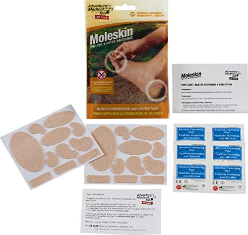 Adventure Medical Kits, Medicazioni moleskine