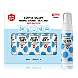DUFT & DOFT 5 Pack Sophy Soapy Hand Sanitizer 30ml (1 oz.) - Portable Spray Type Hand Sanitizer with Delightful Fragrance, Made in Korea, Natural Ingredients for Kids to Adult