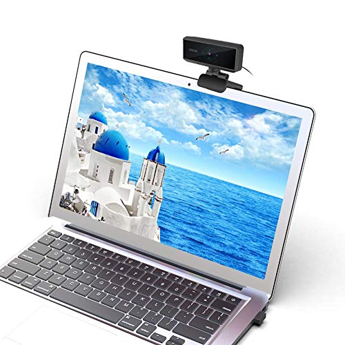 1080p HD Computer Camera - Built-in Microphone Laptop USB PC Webcam Best for Video Calling,Plug and Play Computer Webcam