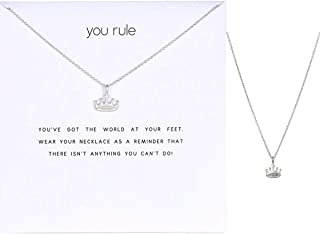 Best necklace with crown Reviews