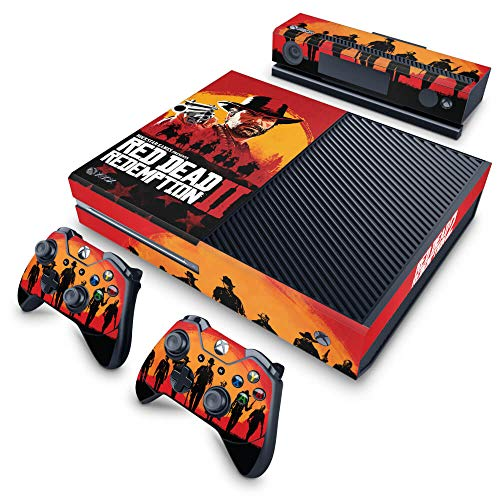 Skin Adesivo para Xbox One Fat - Red Dead Redemption 2