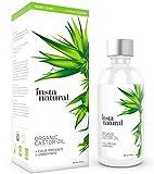 InstaNatural Rizinusöl – 100% reines&zertifiziertes Bio-Öl für Haut