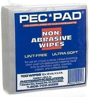 2 X PEC-PAD Lint Free Wipes 4