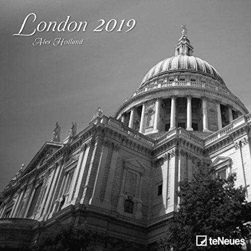 London - Broschurkalender - Kalender 2019 - teNeues-Verlag - Wandkalender mit atmosphärischen Aufnahmen und Platz für Eintragungen - 30 cm x 30 cm (offen 30 cm x 60 cm)