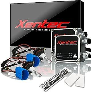 XENTEC 55W Standard Size Ballasts x 2 bundle with 2 x Xenon Bulb 9007/9004/HB5 Hi/Lo 6000K w/Hi-beam Halogen (Ultra White) offroad