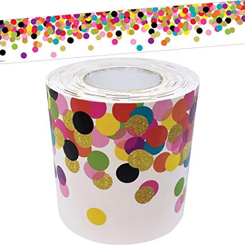 Confetti Straight Rolled Border Trim
