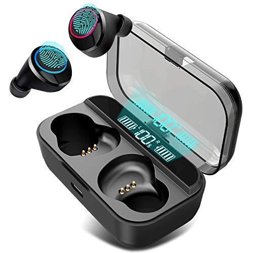 Auriculares Bluetooth, JayLene Auriculares inalámbricos Bluetooth 5.0 Sonido Estéreo Auricular...