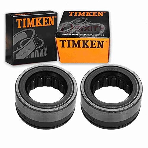 2 pc Timken Rear Wheel Bearing and Seal Kits compatible with Ford F-150 1983-2003 Driveline Axles Service Kits