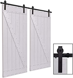 CCJH 12FT-366cm Herraje para Puertas Kit de Accesorios para