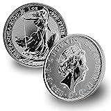 2020 UK Great Britain 1 oz Silver Britannia 2 Pounds Brilliant Uncirculated