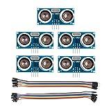 SUNFOUNDER - 5 módulos ultrasónicos HC-SR04 Sensor de Distancia para...
