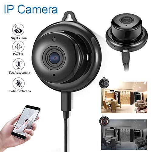 KAIFH Überwachungskamera 1080P200w Intelligente High-Definition-Wireless-Kompaktkamera WiFi-Netzwerk Handy-Fernbedienung Infrarot-Nachtsicht-Überwachungskamera Zwei-Wege-Stimme HD Nachtsicht Weiß